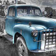 0043 Old Blue Art Print