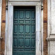 0053 Roman Door 2 Art Print