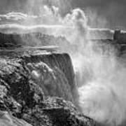 007a Niagara Falls Winter Wonderland Series Art Print