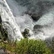 009 Niagara Falls Misty Blue Series Art Print