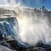 009 Niagara Falls Winter Wonderland Series Art Print