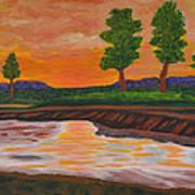011 Landscape Art Print