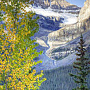 0141 Fall Colors On Icefield Parkway Art Print