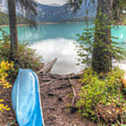 0162 Emerald Lake Art Print