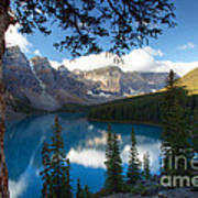 0164 Moraine Lake Art Print