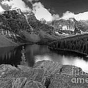 0166 Moraine Lake Art Print