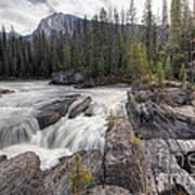 0182 Natural Bridge Waterfall Art Print