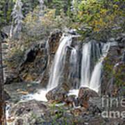 0204 Tangle Creek Falls 3 Art Print