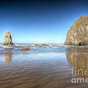 0238 Cannon Beach Oregon Art Print