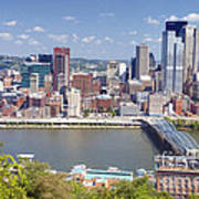 0240 Pittsburgh Pennsylvania Art Print