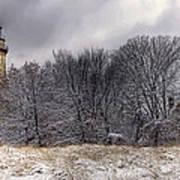 0243 Grosse Point Lighthouse Evanston Illinois Art Print