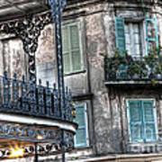 0275 New Orleans Balconies Art Print
