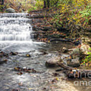 0278 South Elgin Waterfall Art Print