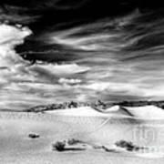 0293 Death Valley Sand Dunes Art Print