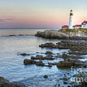 0312 Portland Head Lighthouse Art Print