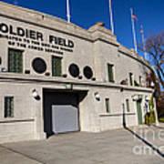 0417 Soldier Field Chicago Art Print by Steve Sturgill