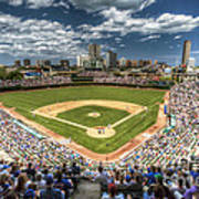 0443 Wrigley Field Chicago  Art Print