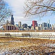 0452 Chicago Skyline Art Print