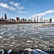 0486 Chicago Skyline Art Print