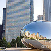 0553 Millennium Park Chicago Art Print