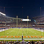 0587 Soldier Field Chicago Print by Steve Sturgill