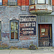 0605 Old Foundry Building Art Print