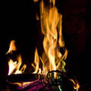 060912-15   Fire Dance Art Print