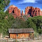 0682 Red Rock Crossing - Sedona Arizona Art Print