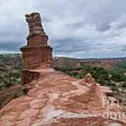 07.30.14 Palo Duro Canyon - Lighthouse Trail 47e Art Print