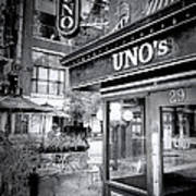 0748 Uno's Pizzaria Art Print