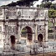 0793 Arch Of Constantine Art Print