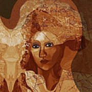 085 -  Romantic Bride  ... Art Print
