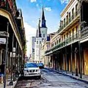 0928 St. Louis Cathedral - New Orleans Art Print