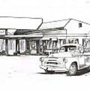 095b-truck Art Print