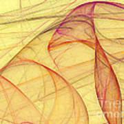 Elegant Abstract Background Art Print