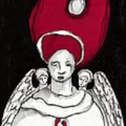 Keepers No 8 Art Print by Milliande Demetriou