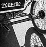 1911 Ford Model T Torpedo Grille Emblem Art Print