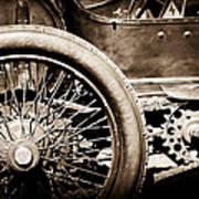 1913 Isotta Fraschini Tipo Im Wheel Art Print