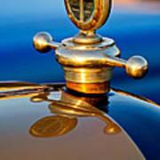 1922 Studebaker Touring Hood Ornament 3 Art Print