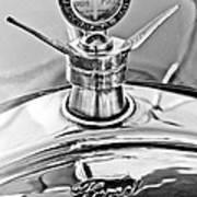 1923 Ford Model T Hood Ornament Art Print