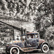 1928 Ford Model A Print by Robert Jensen