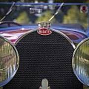 1930 Bugatti Type 50 Drop Head Coup Art Print