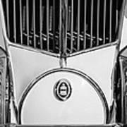 1930 Cord L-29 Speedster Grille Emblem Art Print