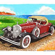 Rolls Royce Henley Roadster Art Print
