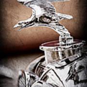 1932 Alvis Hood Ornament - Emblem Art Print