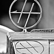 1932 Hupmobile Custom Roadster Hood Ornament Art Print