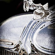 1933 Chrysler Imperial Hood Ornament - Emblem Art Print
