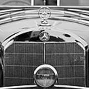 1936 Mercedes-benz 540k Mayfair Special Roadster Art Print