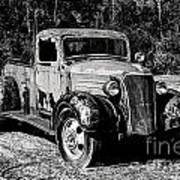 1937 Chevy Wrecker Art Print