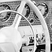 1937 Cord 812 Phaeton Dashboard Instruments Art Print